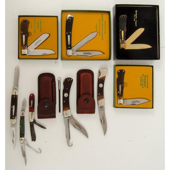 Lot of Nine Remington Knives