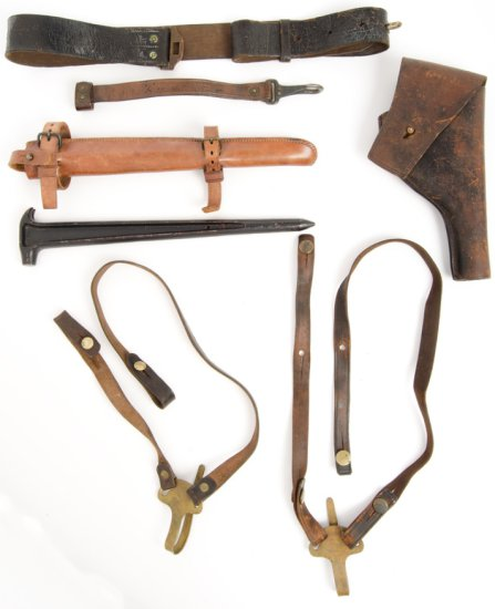 Lot of Six Military Items