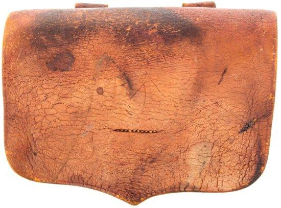 Civil War Leather Artillery Fuse Box