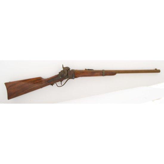 Restocked 1863 Sharps Carbine