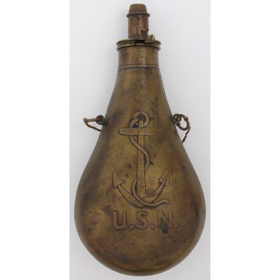 U.S. Navy Powder Flask