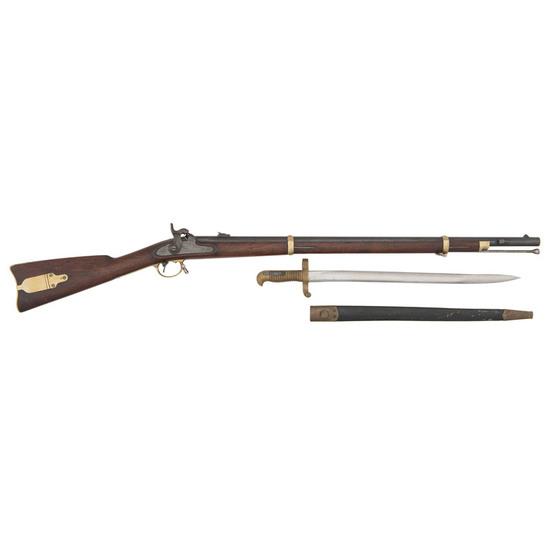 Remington Model 1863 Zouave Rifle With Original Saber Bayonet