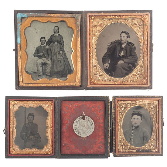 Cased Images of Identified Ohio Soldiers