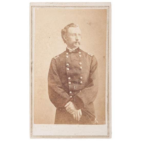 George Armstrong Custer CDV
