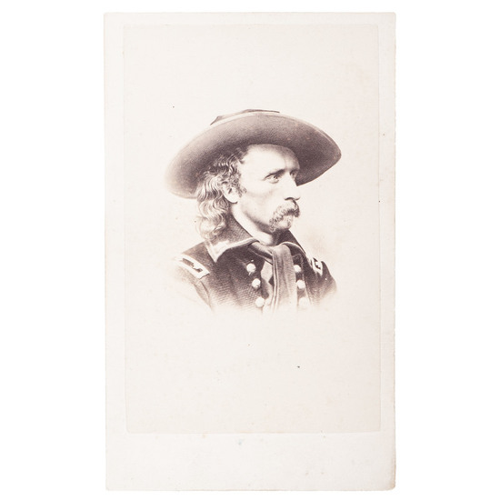 General George Armstrong Custer, CDV by E. & H.T. Anthony