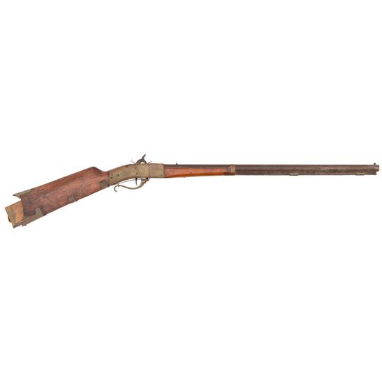 R.Wilson Patent Model For A Breechloading Rifle