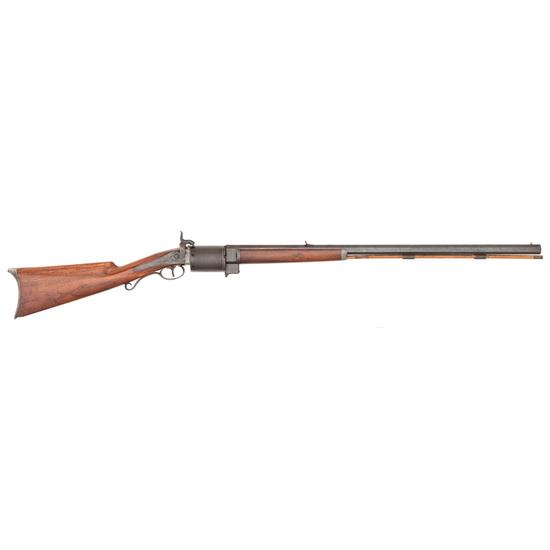 Billinghurst Pill Lock Revolving Half-Stock Sporting Rifle