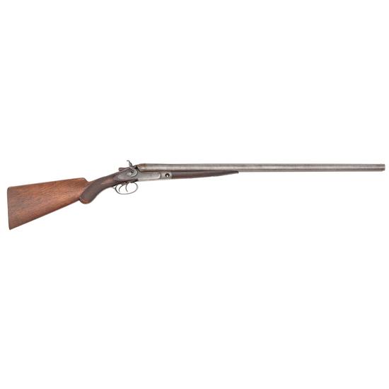 Parker Brothers Side-Hammer Double-Barrel Shotgun