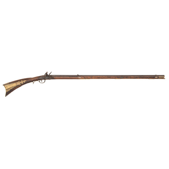 Fullstock Flintlock Kentucky Buck & Ball Rifle