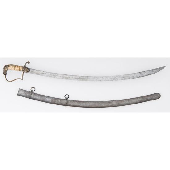 Early Horse Head Pommel Officers Sword