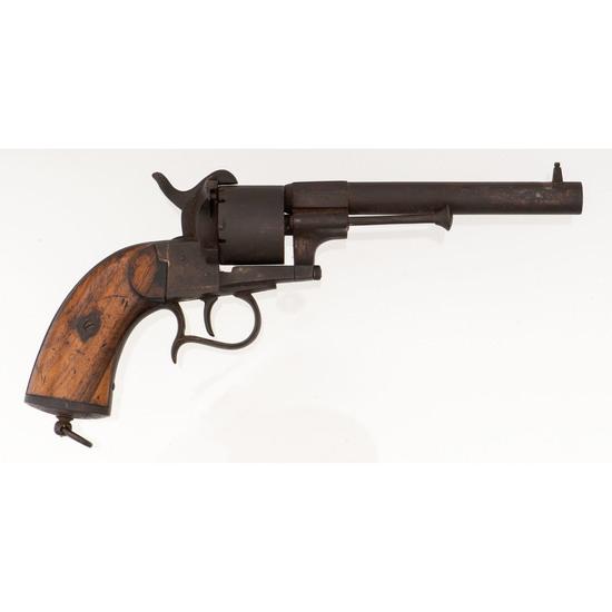 Belgium  LeFaucheux Model 1854 Pinfire Revolver