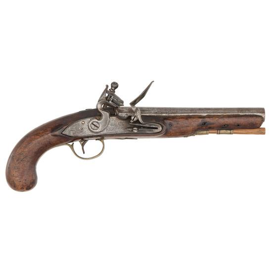 Flintlock Pistol With Nock Lock