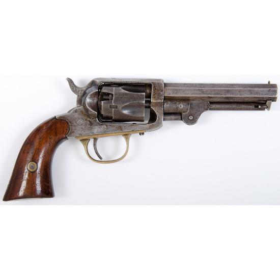 W.W. Marston 5th Type Pocket Percussion Revolver