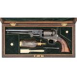 Fine and Rare Factory Engraved French Fitted Rosewood Cased Colt Third Model 1851 Percussion Navy Re