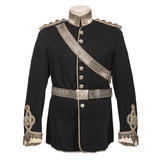 British Victorian Era Yorkshire Dragoons Yeoman Cavalry Captain's Tunic and Accoutrements