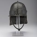 English Civil War Harquebus Three-Barred Helmet