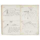 Extremely Rare Bowie Knife Pattern Book