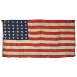 Civil War-Era 36-Star American Flag