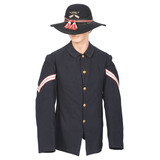 Pattern 1890 Indian Scout Coat and Hat