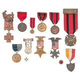 Collection of U.S. Veterans Medals, including Indian Wars