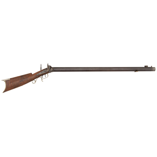 Percussion Target Rifle by J. Brown