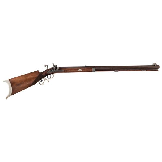 R. Grimm Schuetzen-style Percussion Rifle, .40cal