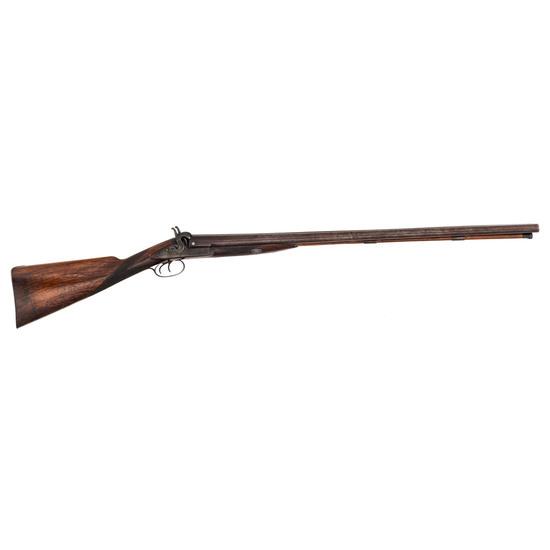 Rare T.J. Albright St. Louis Retailer Marked Percussion Shotgun