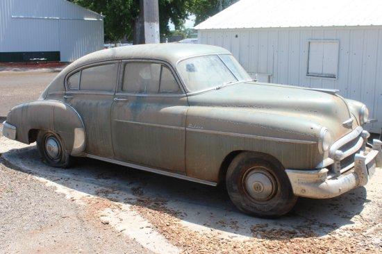 1950 4 door Chevy Deluxe