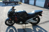 1993 Black Honda Motorcycle