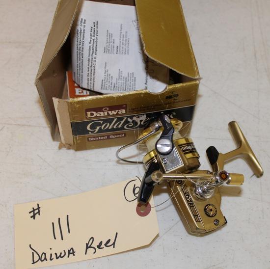 Daiwa Gold series fishing reel