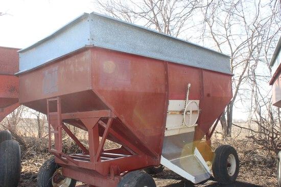 bii gravity wagon, 275 bu, hd gears, extend tongue