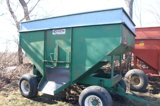 Dakon gravity wagon, 300bu, hd gears