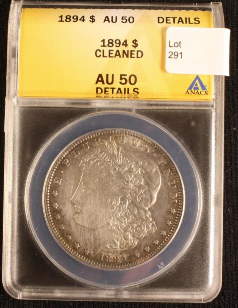 1894 Morgan Dollar
