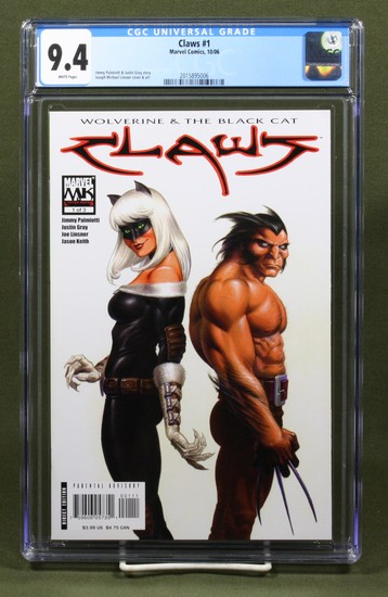 Claws #1/2006/Classic Wolverine CGC 9.4