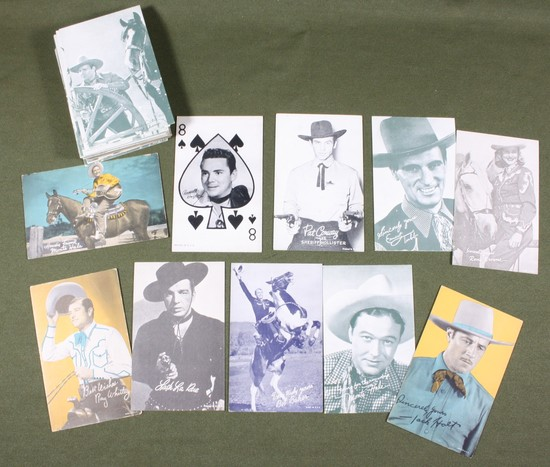 Large Group Western Arcade Cards