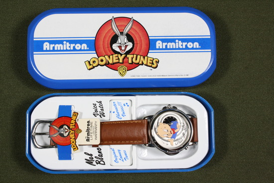 Looney Tunes/Porky Pig Wrist Watch