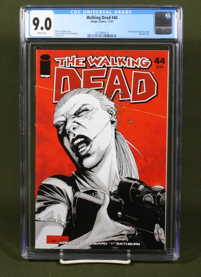 Walking Dead #44/2007/Classic Zombie CGC 9.0