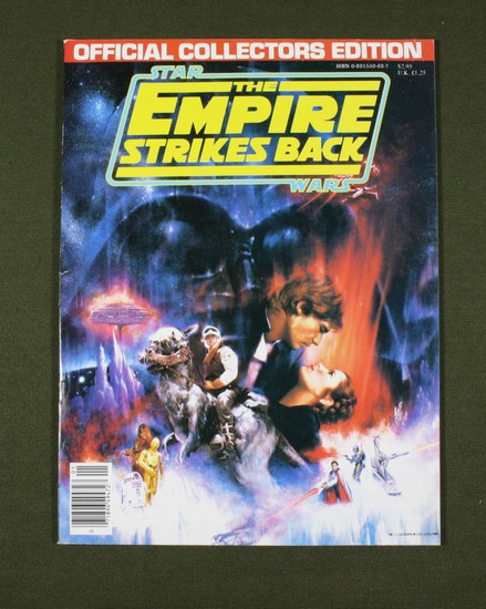 Star Wars/Empire Strikes Back Movie Program