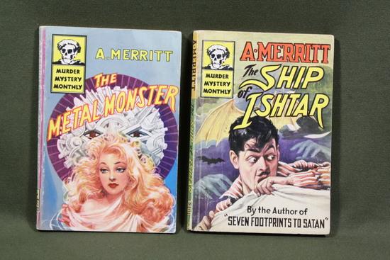 (2) 1940's A. Merritt Avon Murder Mystery