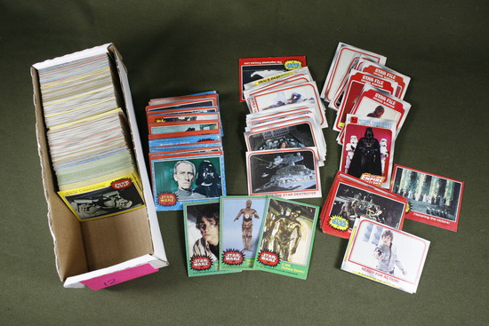 Star Wars & Empire Topps Card Collection