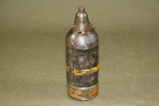 WWII deactivated Japanese knee mortar shell