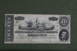 1864 $20.00 Richmond Confederate Note