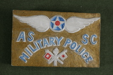 WWI Air Corps hand-carved paperweight