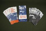 60+ Nixon 1968 presidential campaign brochures