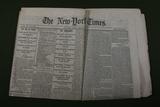 Civil War Era Surrender Newspaper 4/14/1865