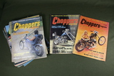 Choppers Magazine Vintage Group of (14)