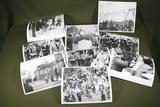 Lot of (9) Italian Anti-Facist Press Photos