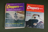 Choppers Magazine Vintage Group of (9)