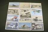 Lot of (13) U.S. Navy Aviation Cards