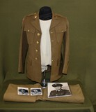 WWII CBI U.S. tunic from songwriter Victor David.